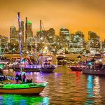 Seattle-Christmas-Boat-Parade-Night-Lights-Skyline