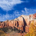 Zion-National-park-utah-Sandstone-Mountain-